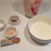 les ingrédients nécessaires à la béchamel légère de Nutrivie : farine, muscade, ...