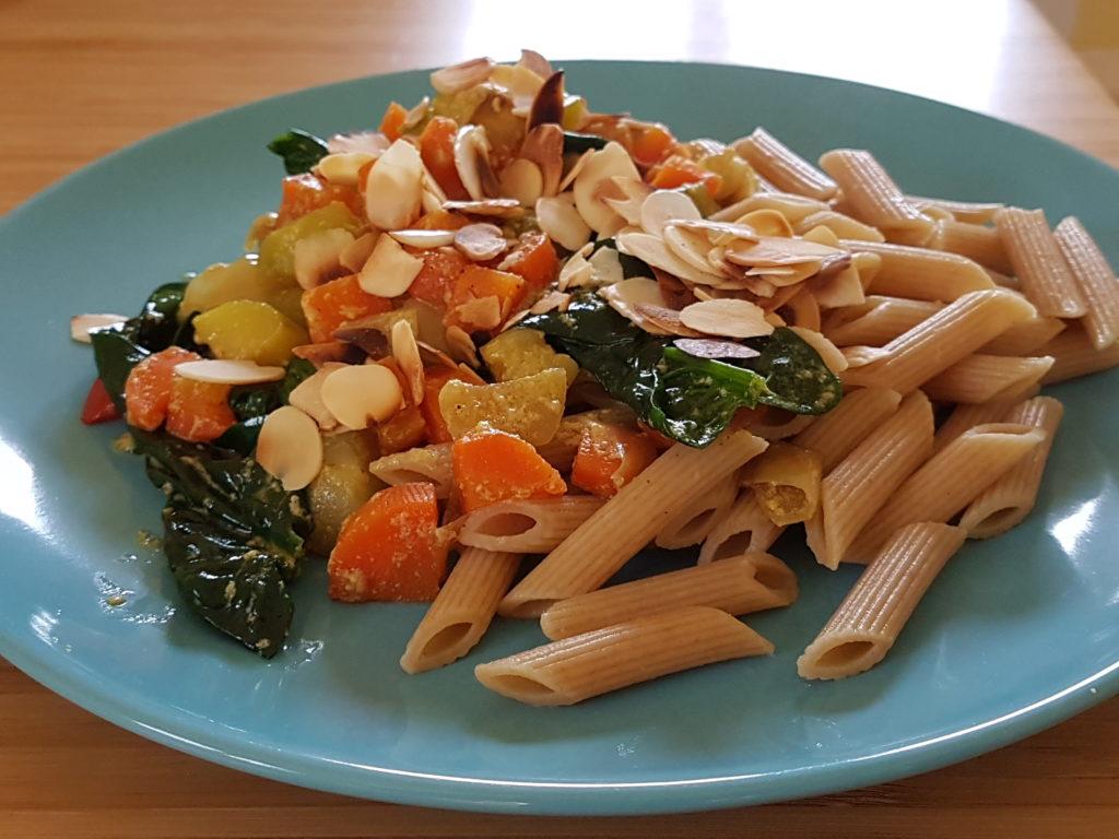 Curry carotte poivron courgette - Nutrivie - nutrition et..